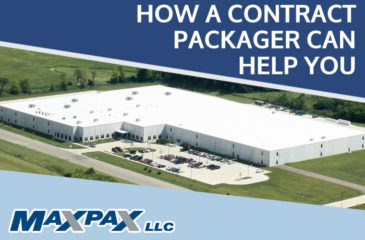 contract packaging from Max Pax